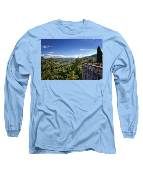 Castle In Chianti, Italy Long Sleeve T-Shirt