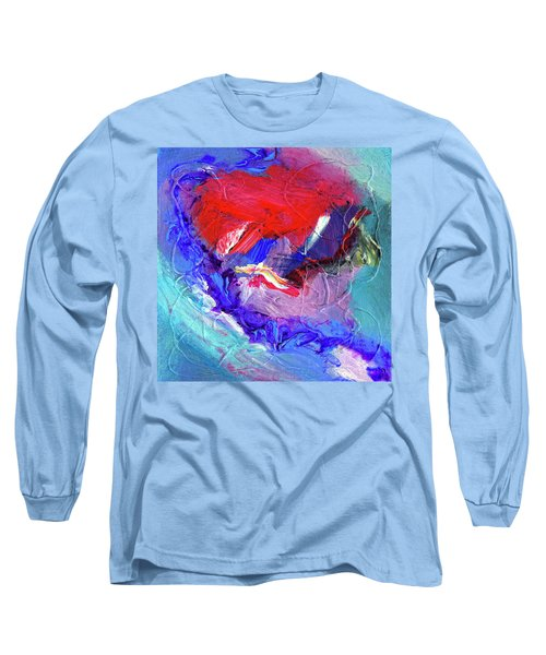 Long Sleeve T-Shirt featuring the painting Catalyst by Dominic Piperata