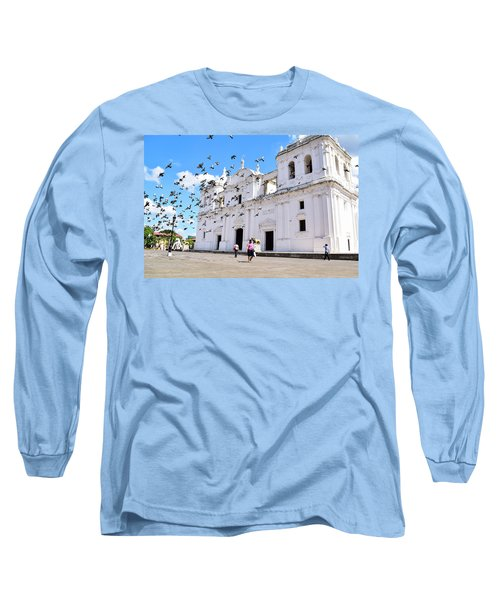 Cathedral Of Leon Long Sleeve T-Shirt