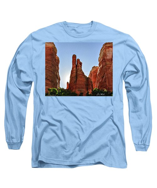 Cathedral Rock 05-155 Long Sleeve T-Shirt by Scott McAllister