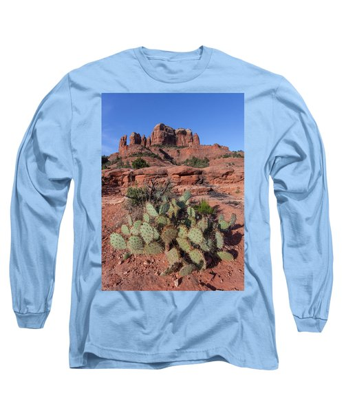 Cathedral Rock Cactus Grove Long Sleeve T-Shirt