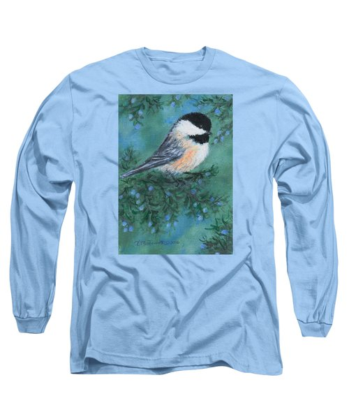 Cedar Chickadee 1 Long Sleeve T-Shirt