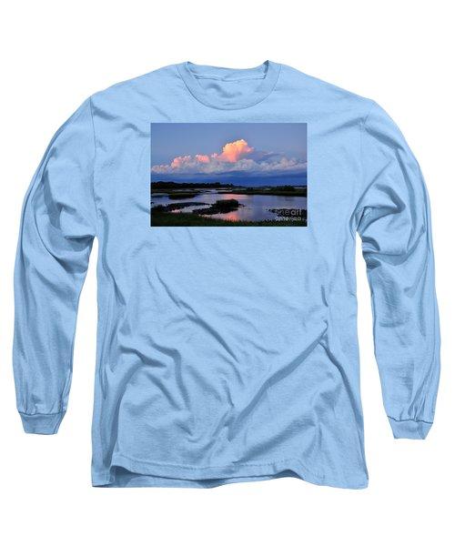 Cedar Key Sunset Long Sleeve T-Shirt