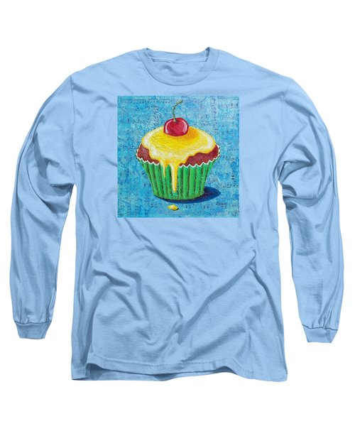 Long Sleeve T-Shirt featuring the painting Celebration by Susan DeLain
