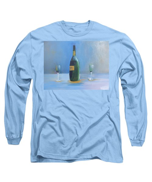 Champagne For Two Long Sleeve T-Shirt