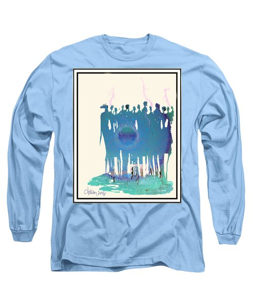 Women Chanting - Recharging The Earth Long Sleeve T-Shirt