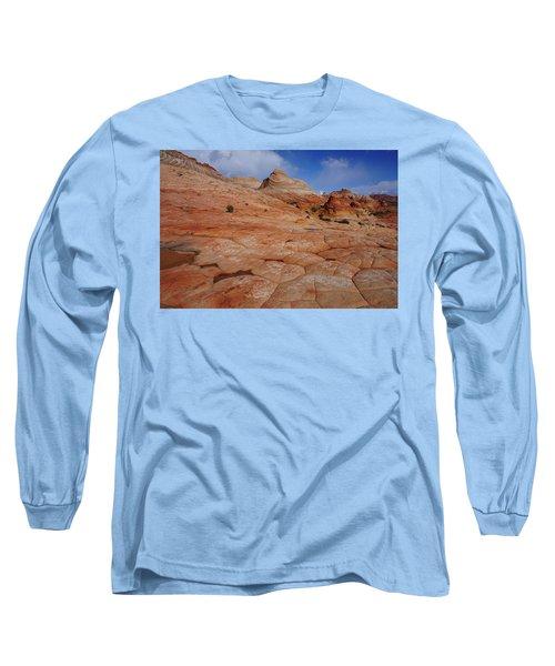 Checkered Red Rock Long Sleeve T-Shirt