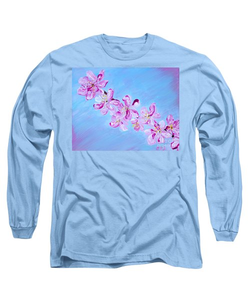 Cherry Blossoms. Thank You Collection Long Sleeve T-Shirt