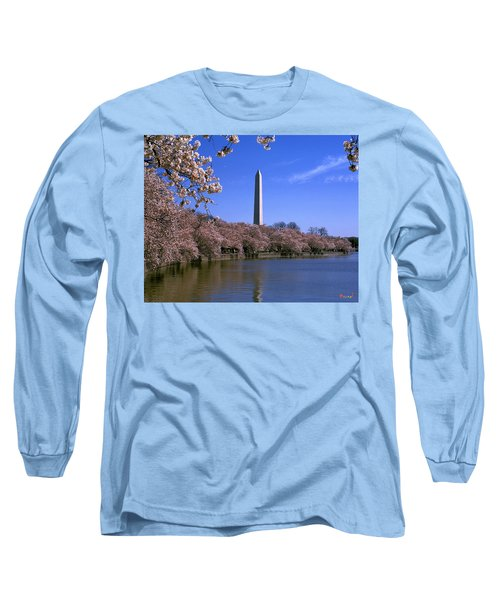 Cherry Blossoms On The Tidal Basin 15j Long Sleeve T-Shirt