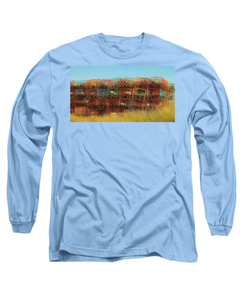 Chesapeake Bay Crabbing Long Sleeve T-Shirt