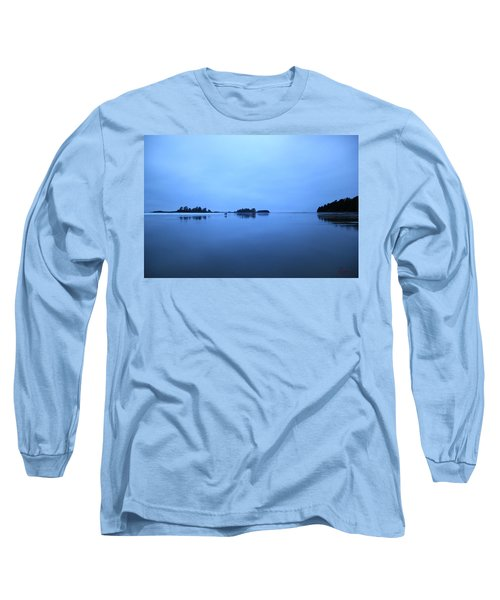 Chesterman Spatial Blues Long Sleeve T-Shirt