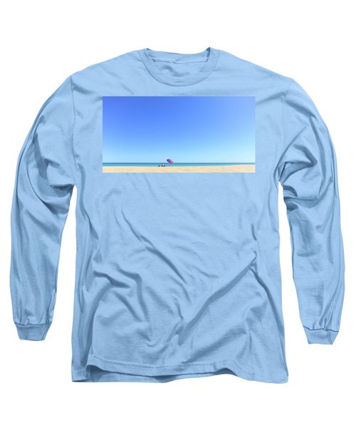 Long Sleeve T-Shirt featuring the photograph Chilling At Cable Beach by Chris Cousins