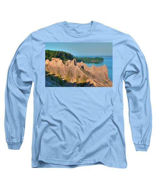 Chimney Bluffs 1750 Long Sleeve T-Shirt