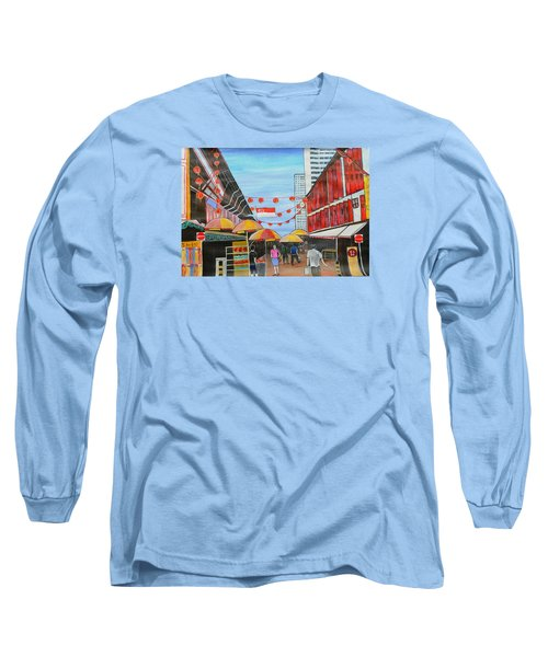 China Town Singaporesg50 Long Sleeve T-Shirt