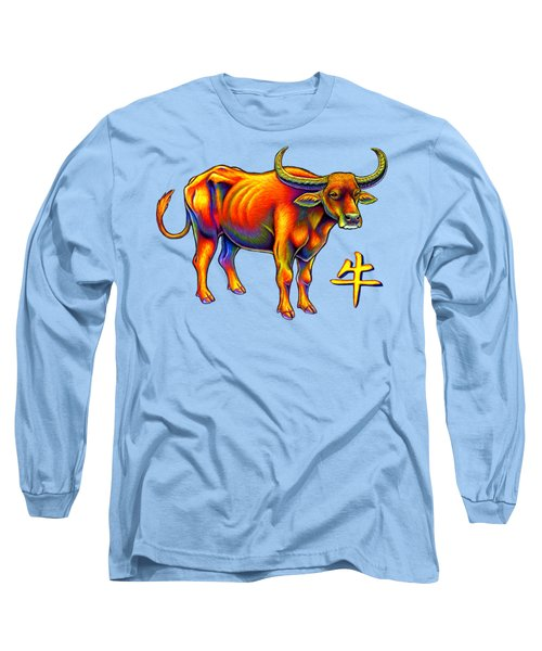 Chinese Zodiac - Year Of The Ox Long Sleeve T-Shirt