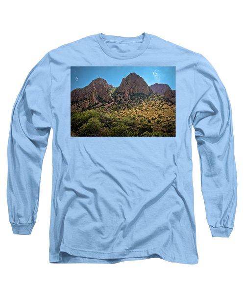 Chisos Mountain Range Long Sleeve T-Shirt