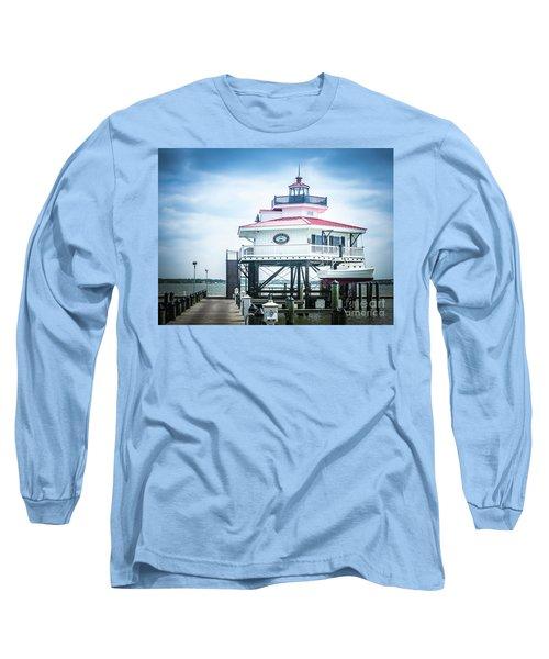 Choptank River Lighthouse Long Sleeve T-Shirt