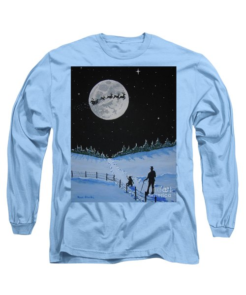 Christmas Eve Stroll Long Sleeve T-Shirt