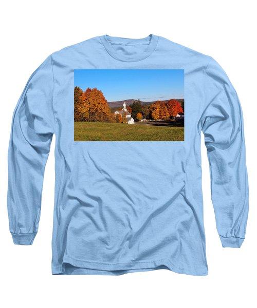 Church And Mountain Long Sleeve T-Shirt