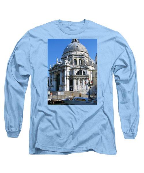 Church In Venice Long Sleeve T-Shirt by Lisa Boyd