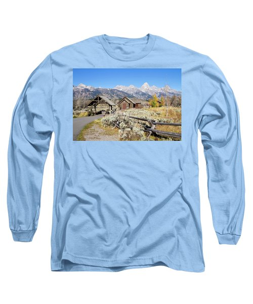 Church Of The Transfiguration Long Sleeve T-Shirt by Shirley Mitchell