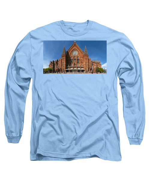 Cincinnati Music Hall Long Sleeve T-Shirt by Rob Amend