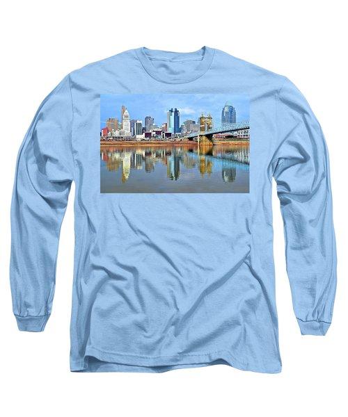 Cincinnati Ohio Times Two Long Sleeve T-Shirt