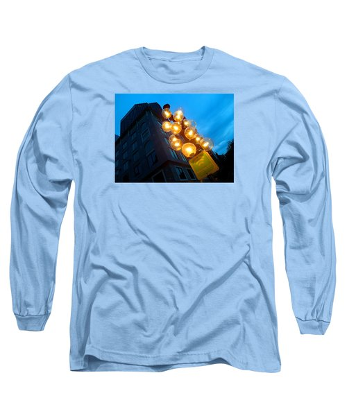 Circles Of Light  Long Sleeve T-Shirt