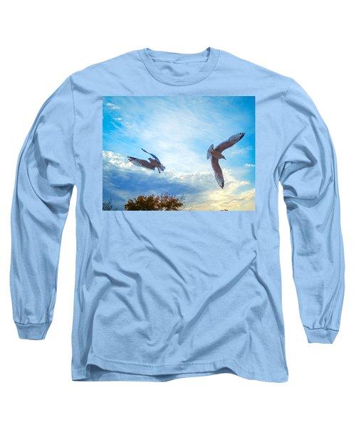 Circling Wings  Long Sleeve T-Shirt