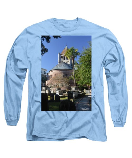 Circular Congregational Chuch 2 Long Sleeve T-Shirt by Gordon Mooneyhan