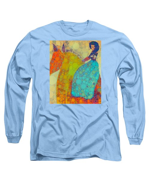 Circus Pony 2 Long Sleeve T-Shirt by M  Stuart