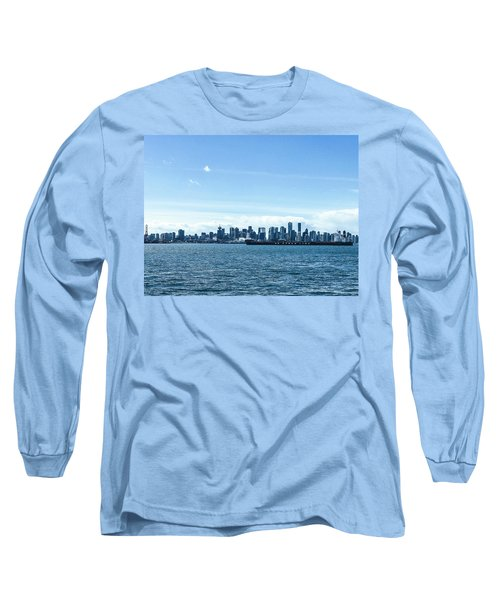 City Of Vancouver From The North Shore Long Sleeve T-Shirt