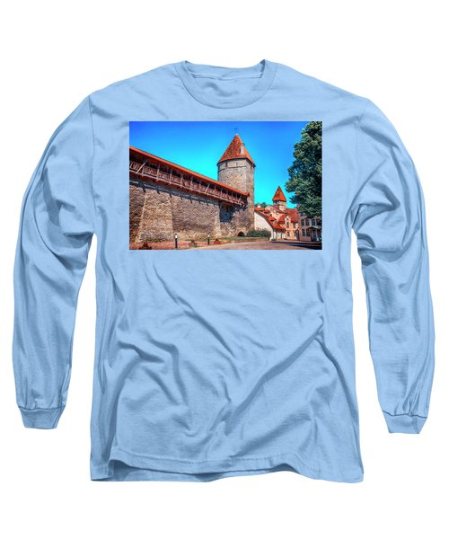 City Wall Long Sleeve T-Shirt