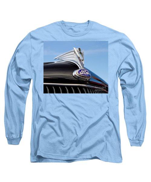Classic 1935 Ford Hood Ornament Long Sleeve T-Shirt
