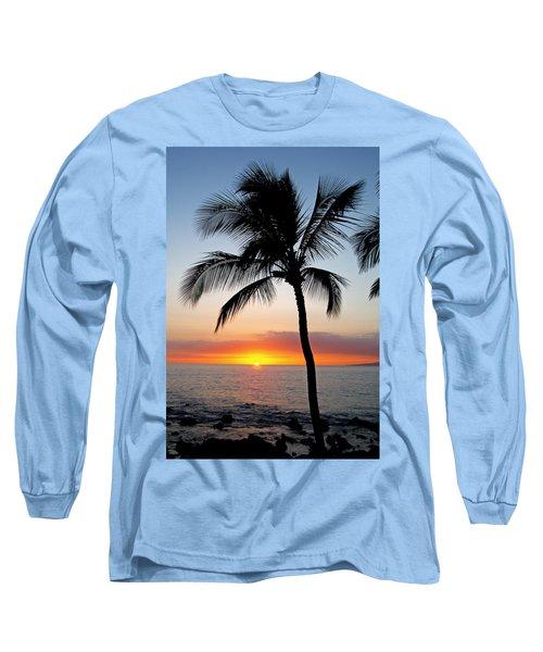 Classic Maui Sunset Long Sleeve T-Shirt