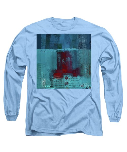 Long Sleeve T-Shirt featuring the digital art Classico - S03b by Variance Collections