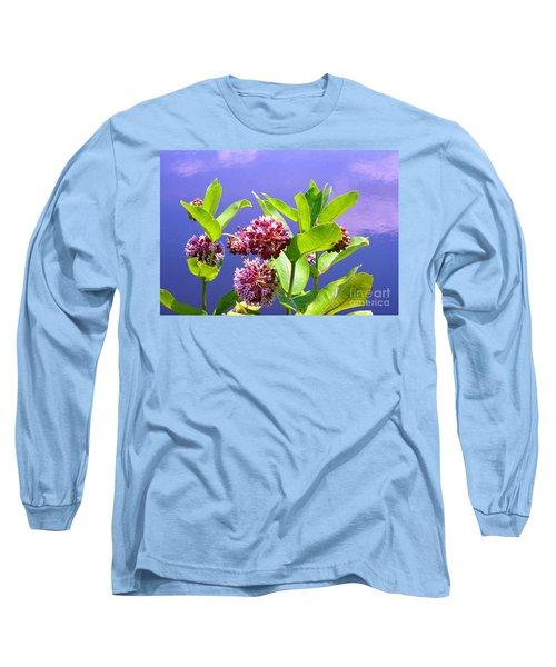Clear Simple Beauty Long Sleeve T-Shirt