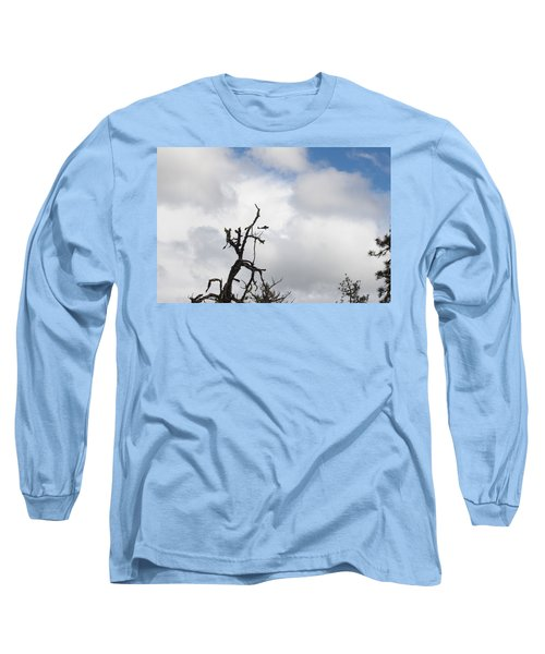 Long Sleeve T-Shirt featuring the photograph Close Call by Marie Neder