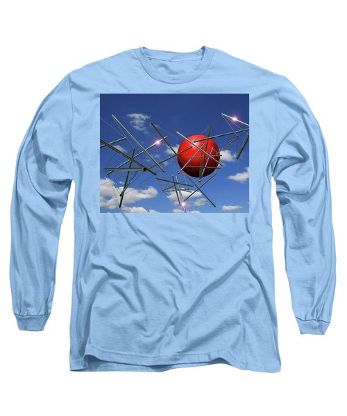 Long Sleeve T-Shirt featuring the photograph Close Encounters by Christopher McKenzie
