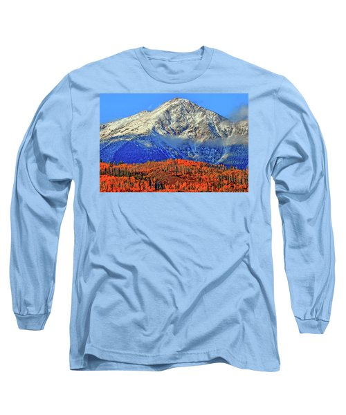 Long Sleeve T-Shirt featuring the photograph Closing In On Fall by Scott Mahon