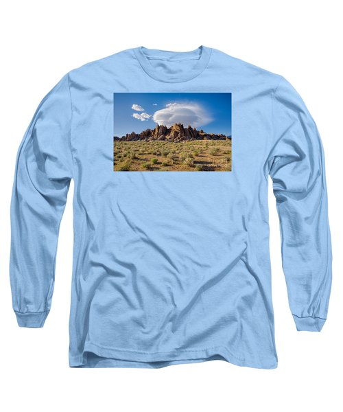 Cloud And Rocks Long Sleeve T-Shirt