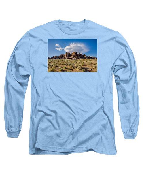 Cloud And Rocks Long Sleeve T-Shirt