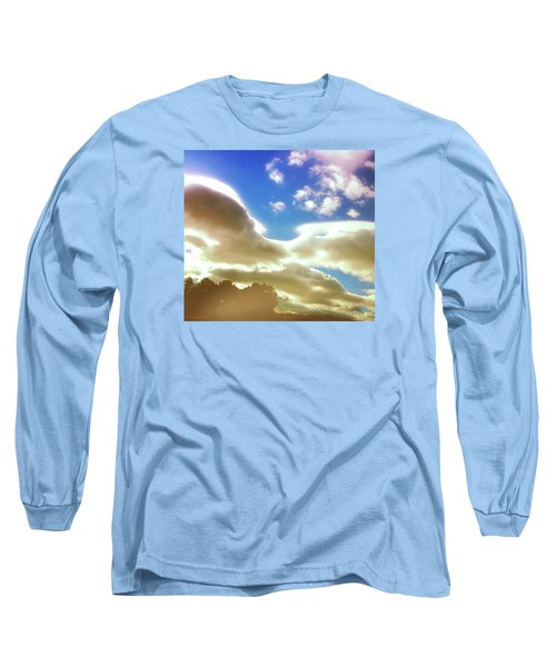 Long Sleeve T-Shirt featuring the photograph Cloud Drama Over Sangre De Cristos by Anastasia Savage Ealy