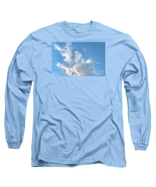 Cloud Wisps Too Long Sleeve T-Shirt