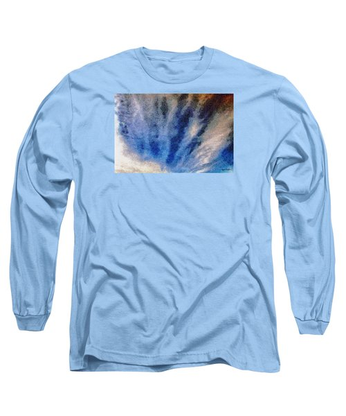 Long Sleeve T-Shirt featuring the photograph Clouds 12 by Spyder Webb