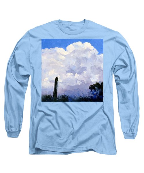 Clouds Building Long Sleeve T-Shirt