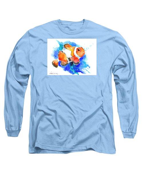 Clownfish Long Sleeve T-Shirt by Suren Nersisyan