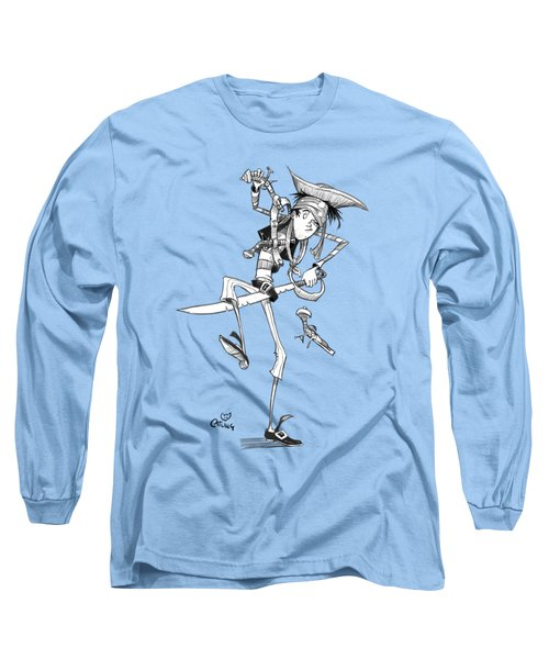 Clumsy Pirate Long Sleeve T-Shirt