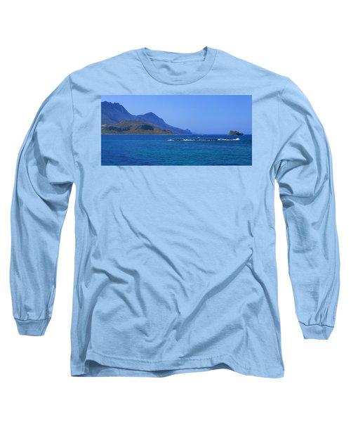 Coast Of Gramvousa Long Sleeve T-Shirt
