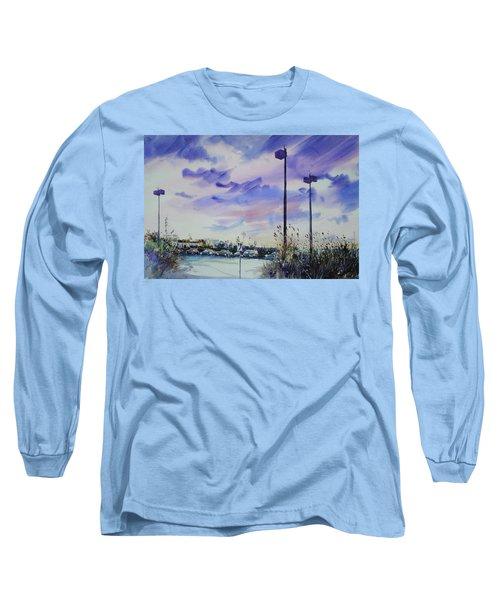 Coastal Beach Highway Long Sleeve T-Shirt by P Anthony Visco